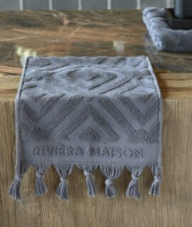 RM Chic Guest Towel Anthracite 50×30 Riviera Maison